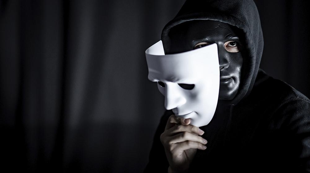 Ladro in maschera
