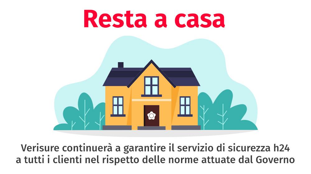 Verisure garantisce il servizio di sicurezza h24 per la casa nel rispetto delle norme ministeriali